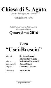 Quaresima 04 - 06-03-2016 - Coro Usci
